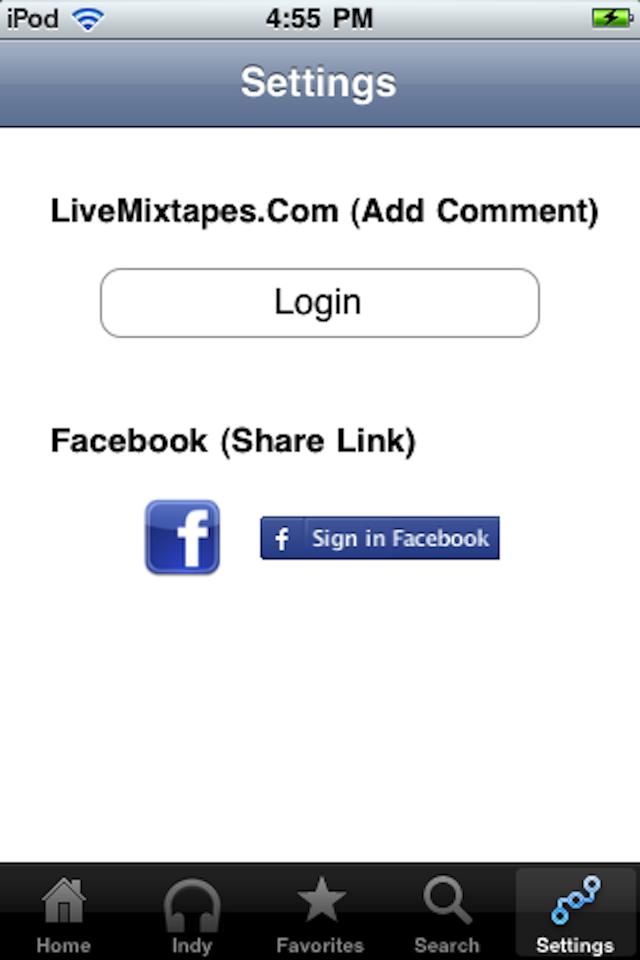 LiveMixtapes screenshot 4