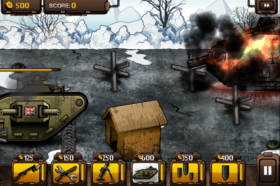 Trenches II iPhone, iPad Screenshot